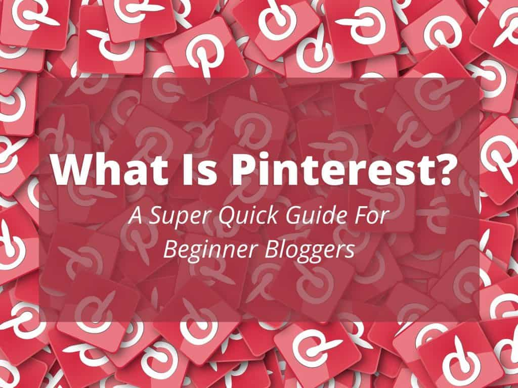 What is Pinterest? If you've ever asked yourself this question then read this super-quick guide for beginner bloggers by Busy Being Mummy. #Pinterest #Pinterestforbloggers #whatisPinterest